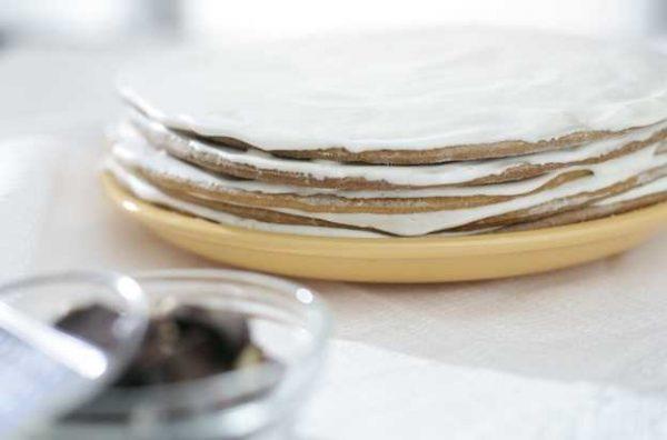 Торт медовый сметанник