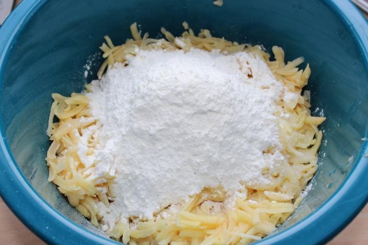 рецепт картофельных драников
