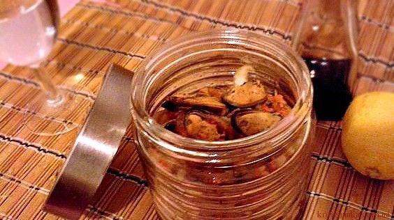 Мидии маринованные рецепт приготовления