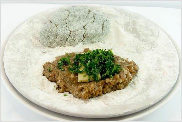 мясные котлеты с грибами рецепт с фото