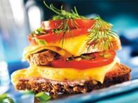 Горячий бутерброд с сыром 2