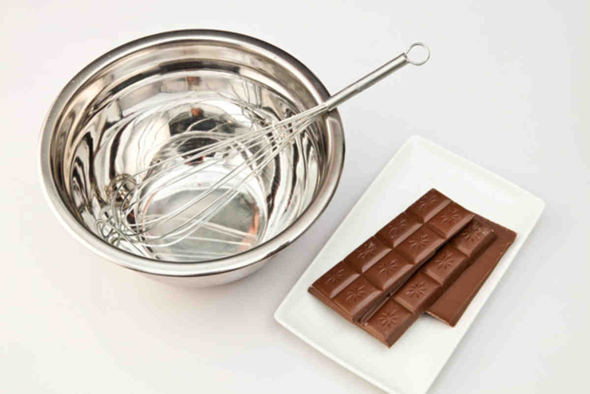 Как растопить шоколад на паровой бане