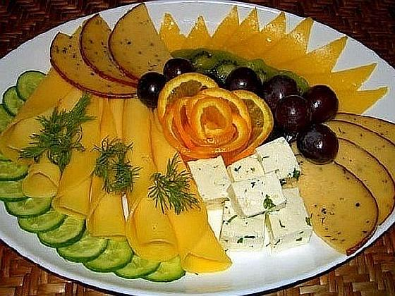 Сырная нарезка