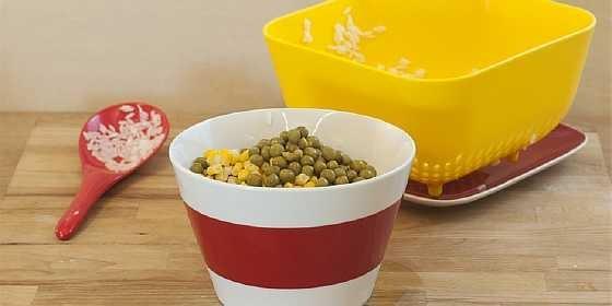 Salat s gribami i risom (1)