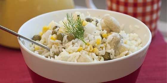 Salat s gribami i risom (2)