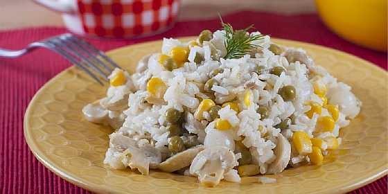 Salat s gribami i risom (3)