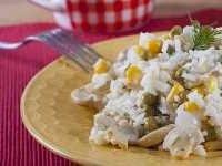 Salat s gribami i risom (4)