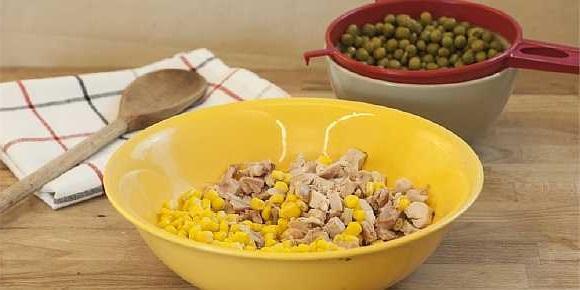 Salat s kuricei i risom (3)