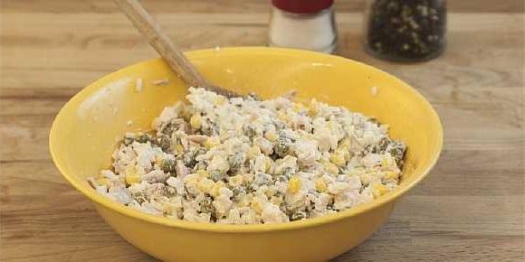 Salat s kuricei i risom (5)