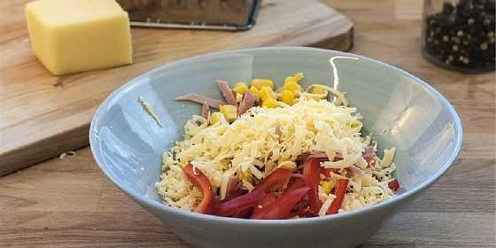Salat s vetchinoi i kukuruzoi (2)