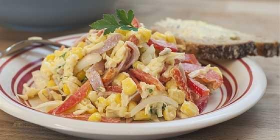 Salat s vetchinoi i kukuruzoi (5)