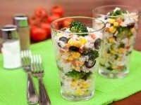 Salat iz risa s brokkoli (1)