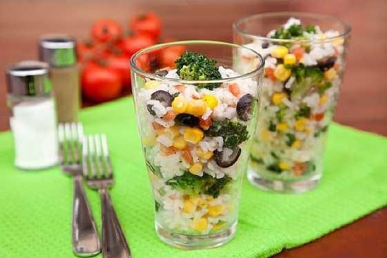 Salat iz risa s brokkoli (2)