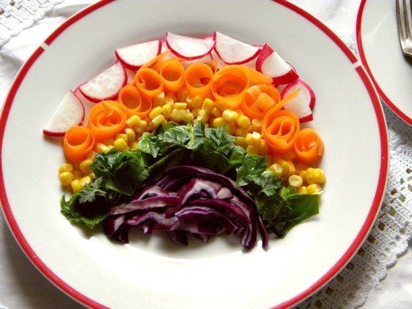 salat raduga