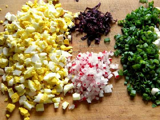 salat s zelenyu i jicom (4)