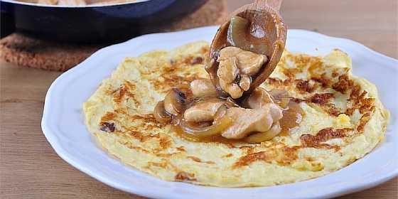 Omlet s gribami (4)