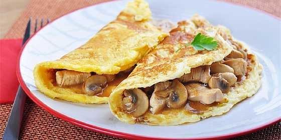 Omlet s gribami (5)
