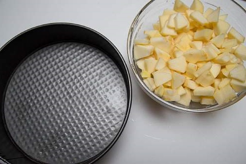 форма для выпекания шарлотки
