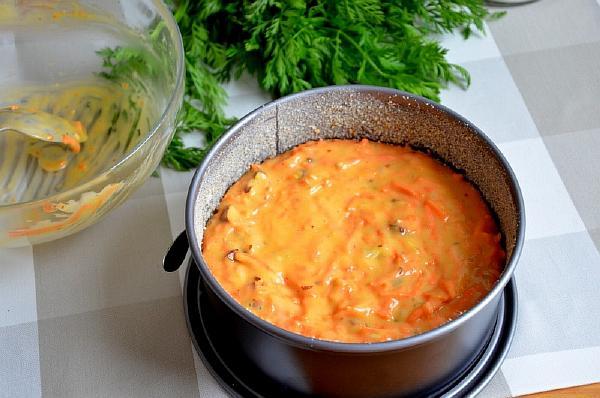 морковный пирог рецепт пошагово
