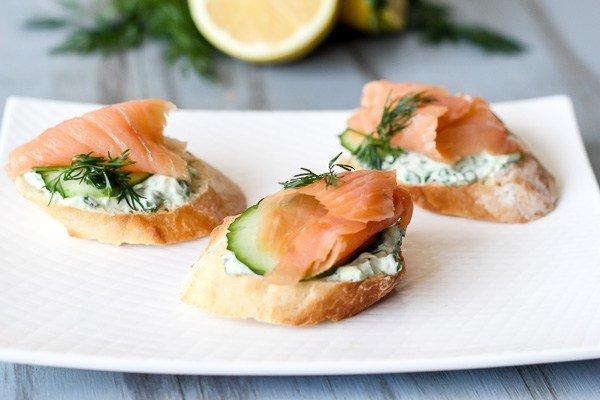 рецепт бутерброды с рыбой