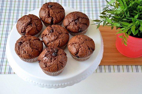 Маффины рецепт с фото пошагово шоколадные