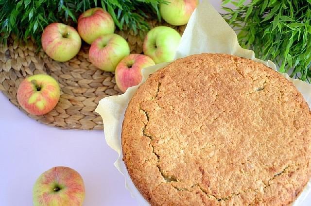 яблочный пирог пошагово