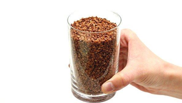 Сколько грамм гречки в стакане