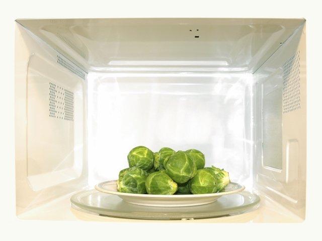 Сколько варить брюссельскую капусту в микроволновой печи