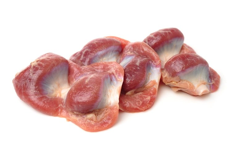 Как чистить куриные желудки