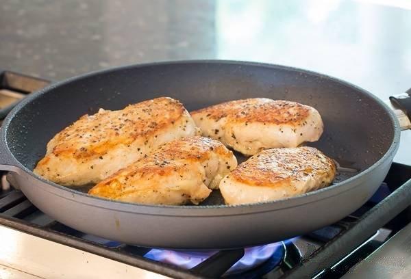 мясо в сливочном соусе на сковороде рецепт
