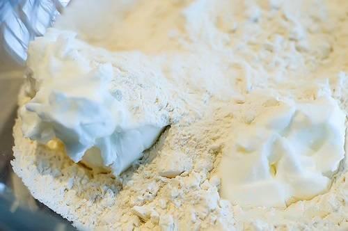 Тесто для пирога на сметане