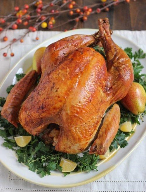 Курица в духовке температура