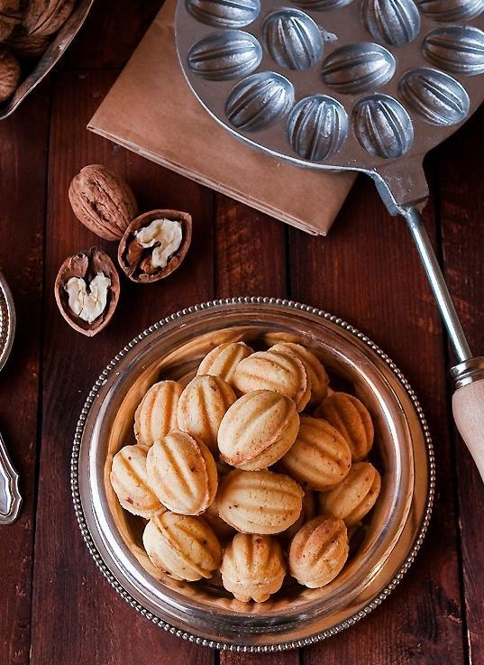 Тесто на орешки со сгущенкой