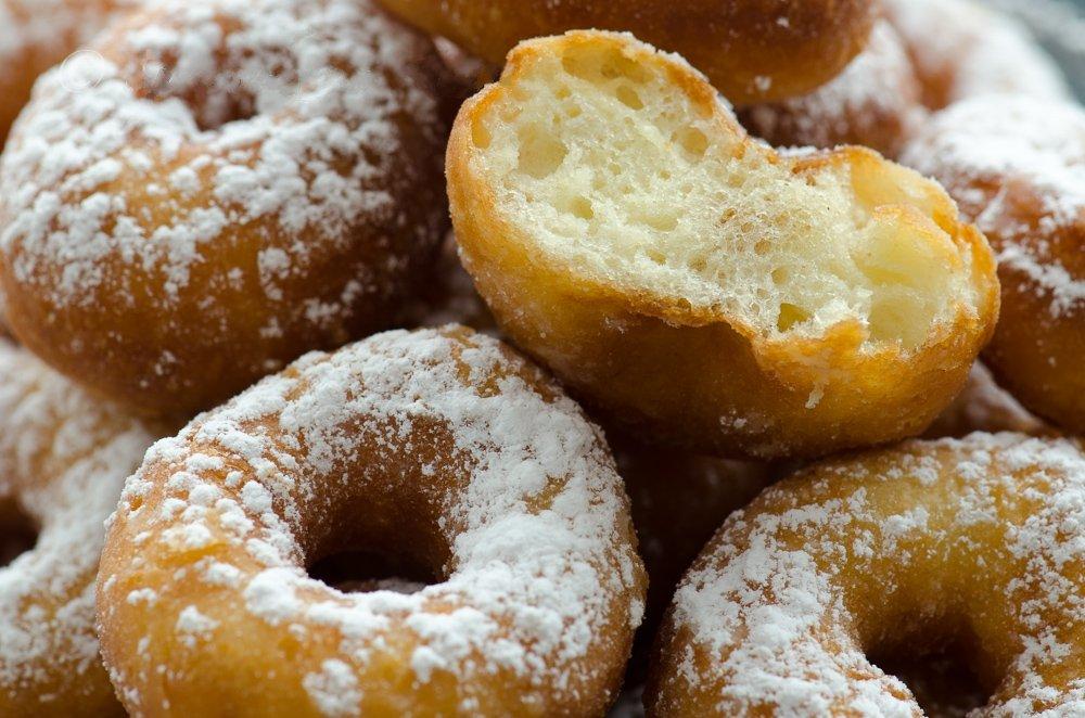 Пончики на кефире